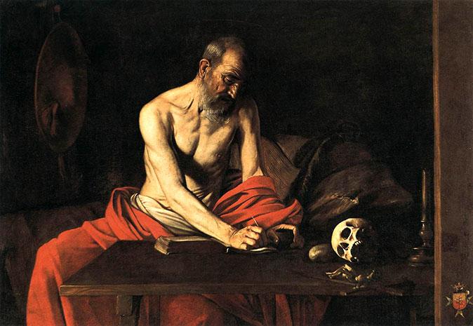 michelangelo-caravaggio-hieronymus